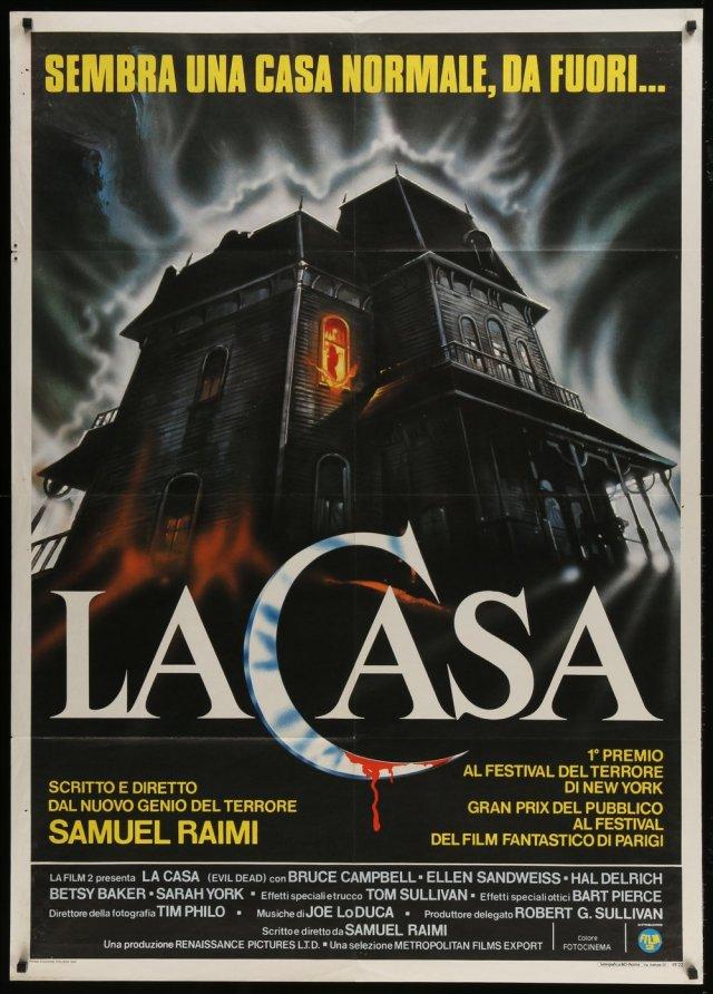 italian evil dead poster la casa by enzo sciotti
