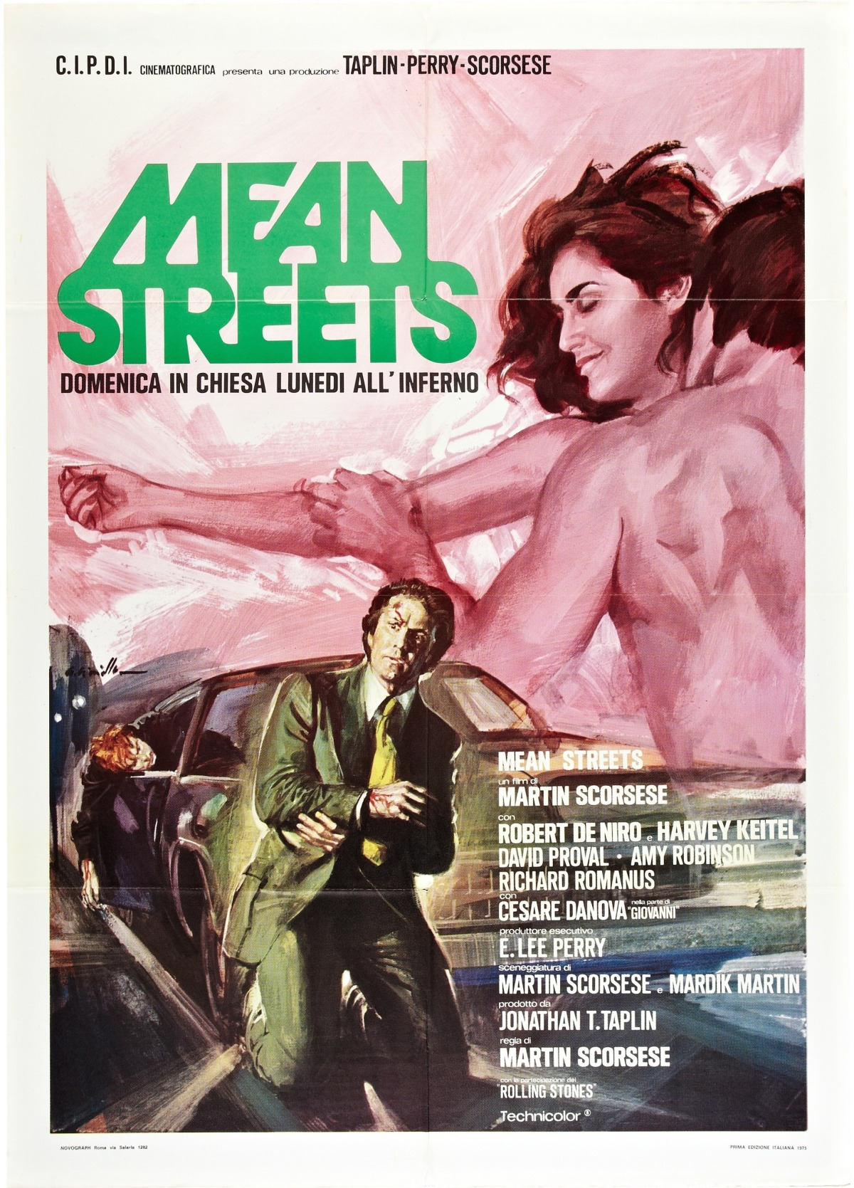 Mean Streets italian poster by averardo ciriello