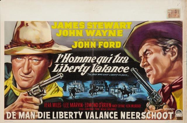 The Man Who Shot Liberty Valance belgian poster