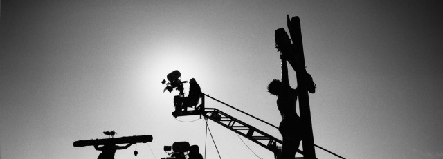 The Passion of the Christ behind the scenes, photo by philippe antonello