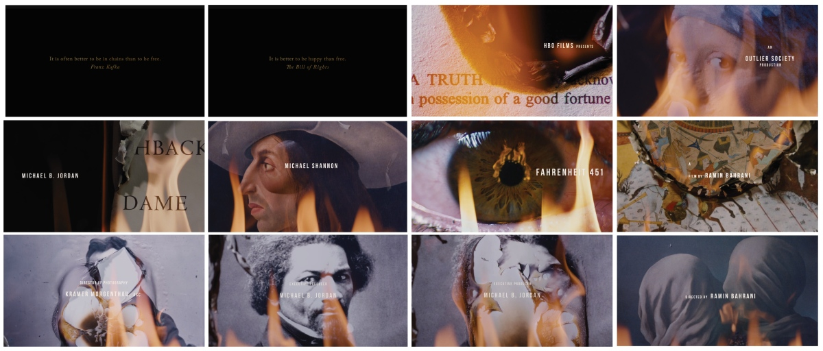 Fahrenheit 451 opening credits