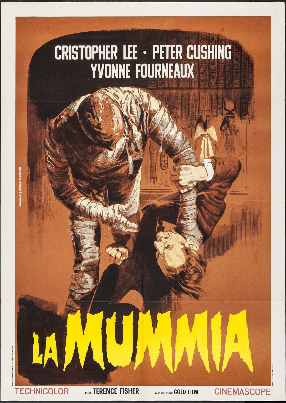 The Mummy mario piovano poster