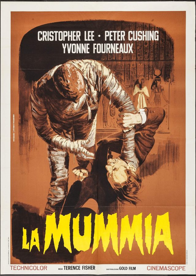 The Mummy mario piovano poster