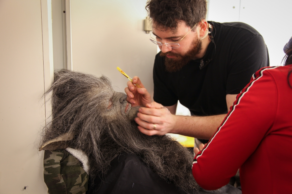 Another WolfCop make-up
