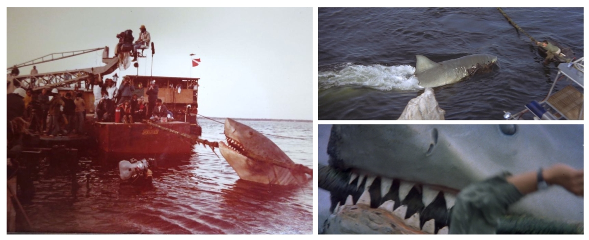 Behind the scenes Jaws 2 ending