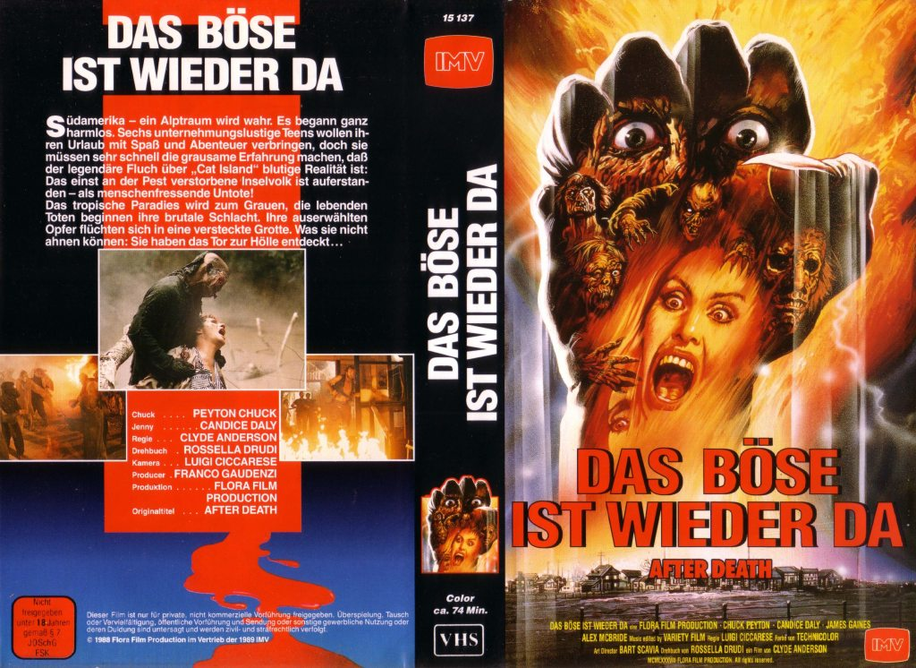 After Death (1989) german vhs