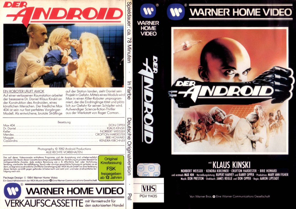 Android (1983) german vhs