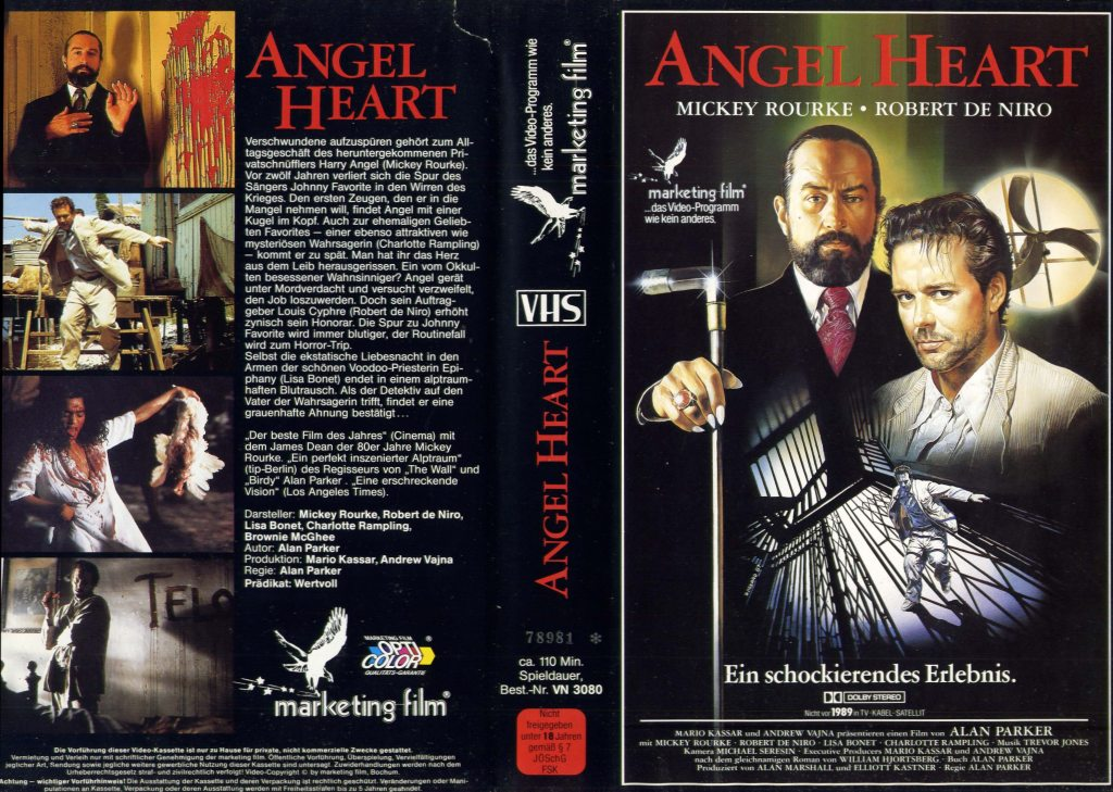 Angel Heart (1987) german vhs
