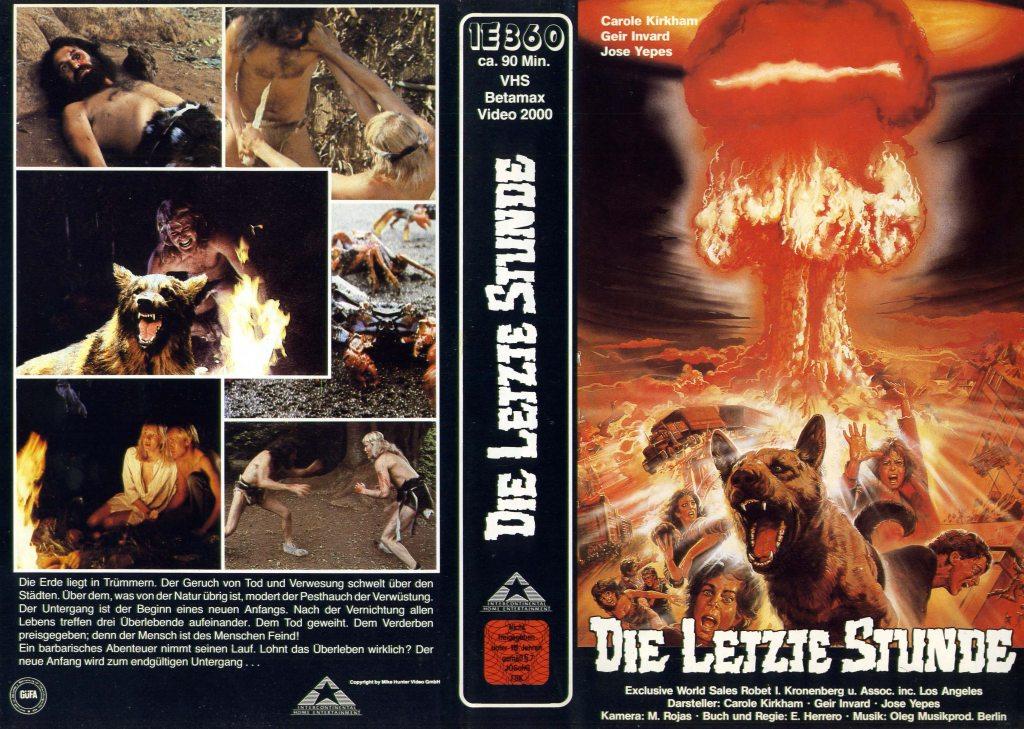 Animales racionales (1983) german vhs