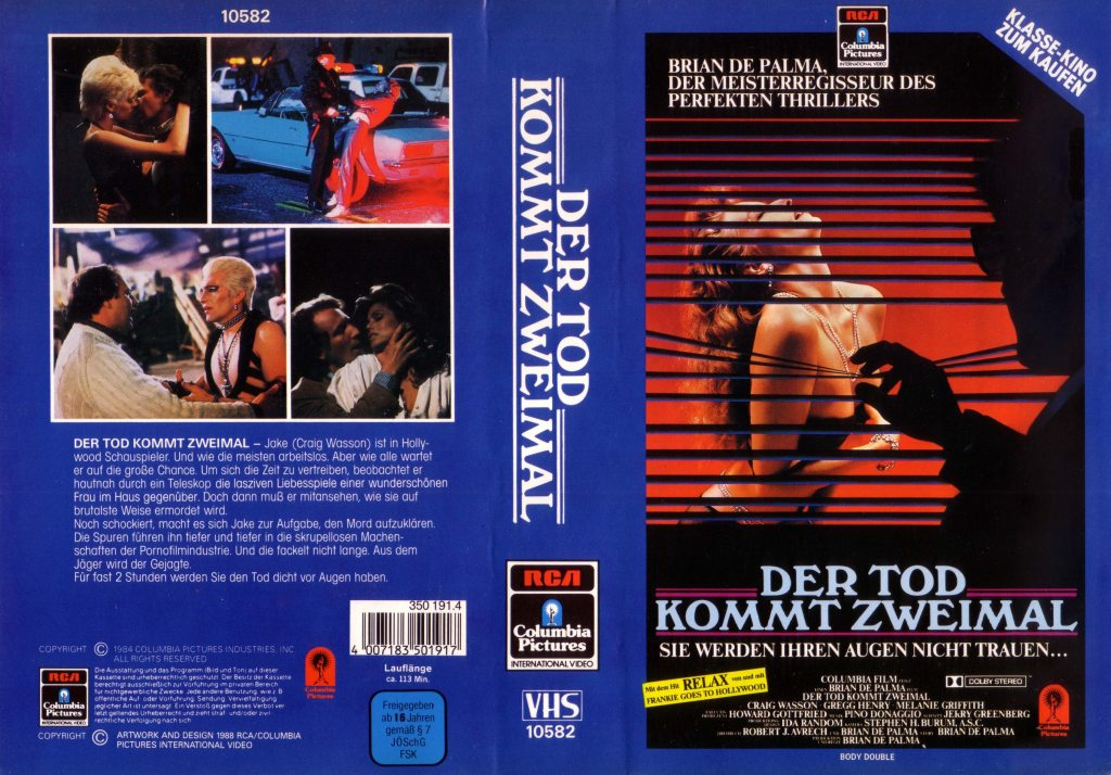 Body Double (1984) german vhs