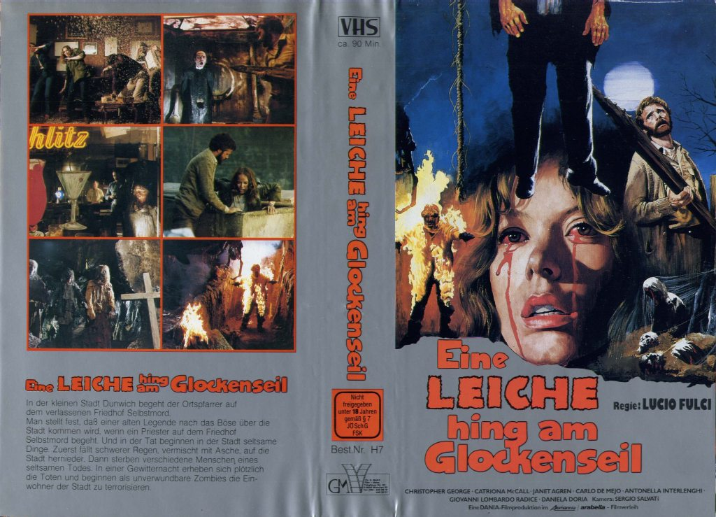 City of the Living Dead (1980) german vhs
