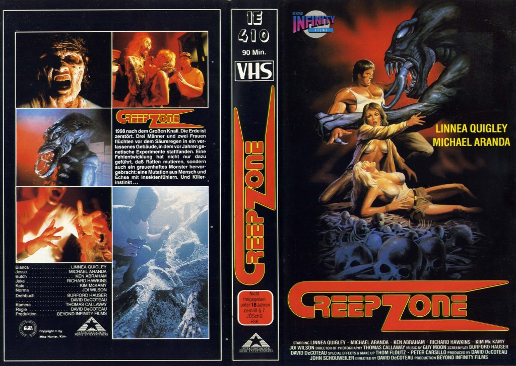 Creepozoids (1987) german vhs