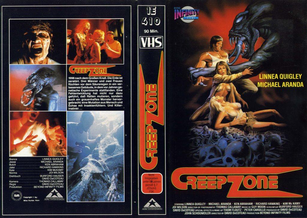 Creepozoids (1987) german vhs