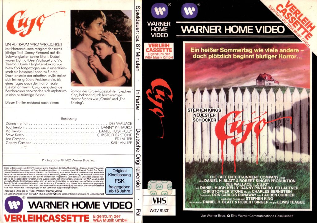 Cujo (1983) german vhs