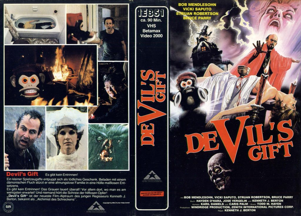 Devil's Gift (1984) german vhs