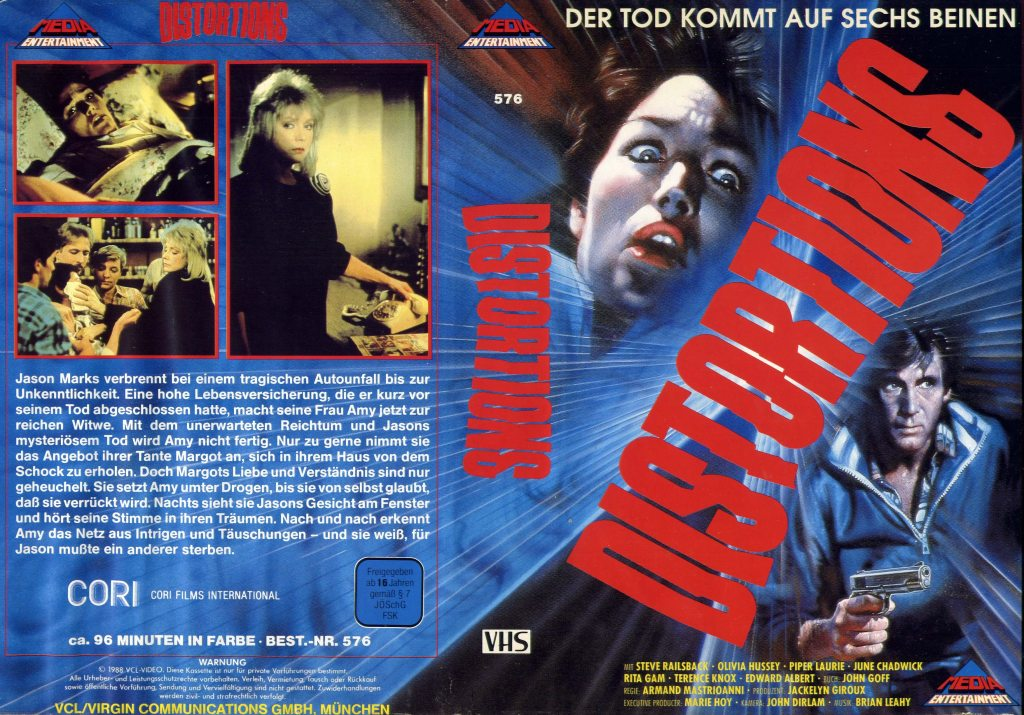 Distortions (1987) german vhs