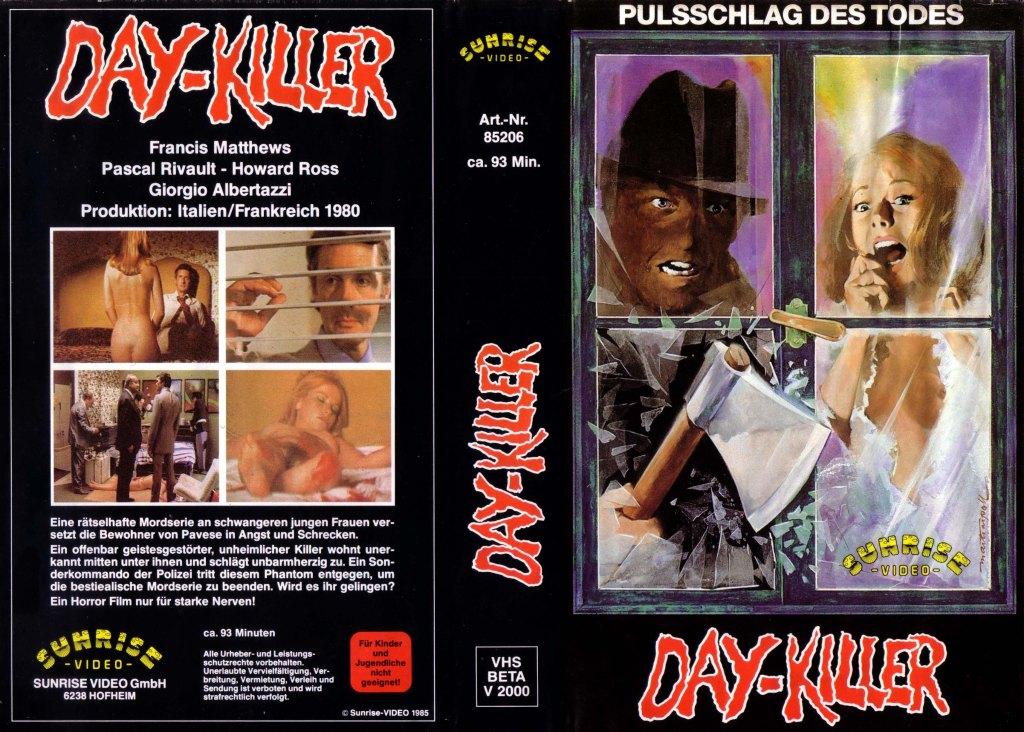 Five Women for the Killer (1974) german vhs