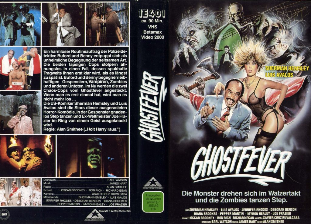 Ghost Fever (1986) german vhs cover by Enzo Sciotti