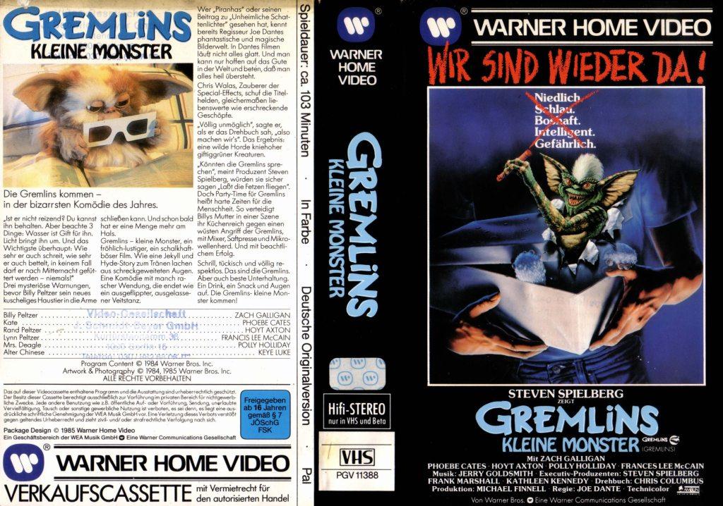 Gremlins (1984) german vhs