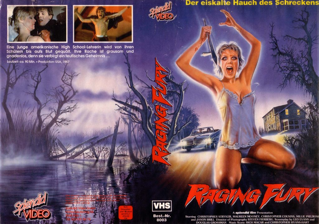 Hell High (1989) german vhs
