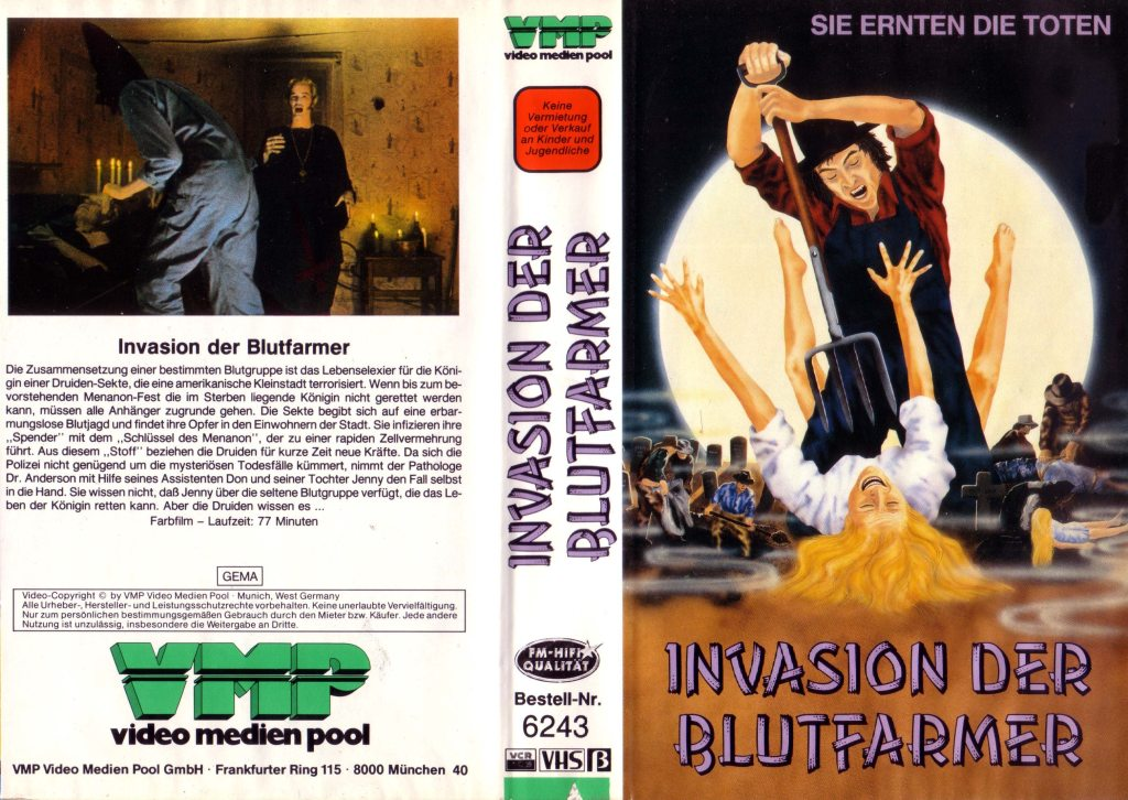 Invasion is the Blood Farmers (1972) german vhs