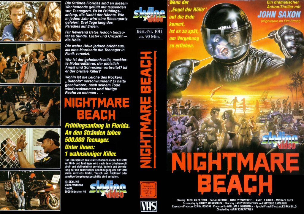 Nightmare Beach (1989) german vhs