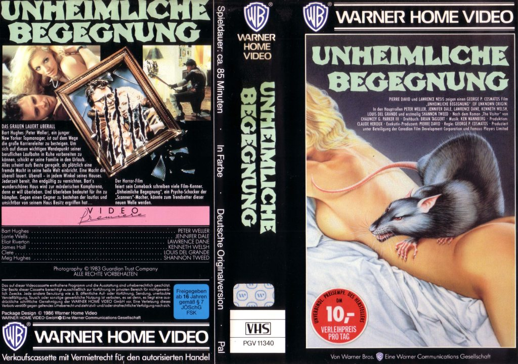 Of Unknown Origin (1983) german vhs