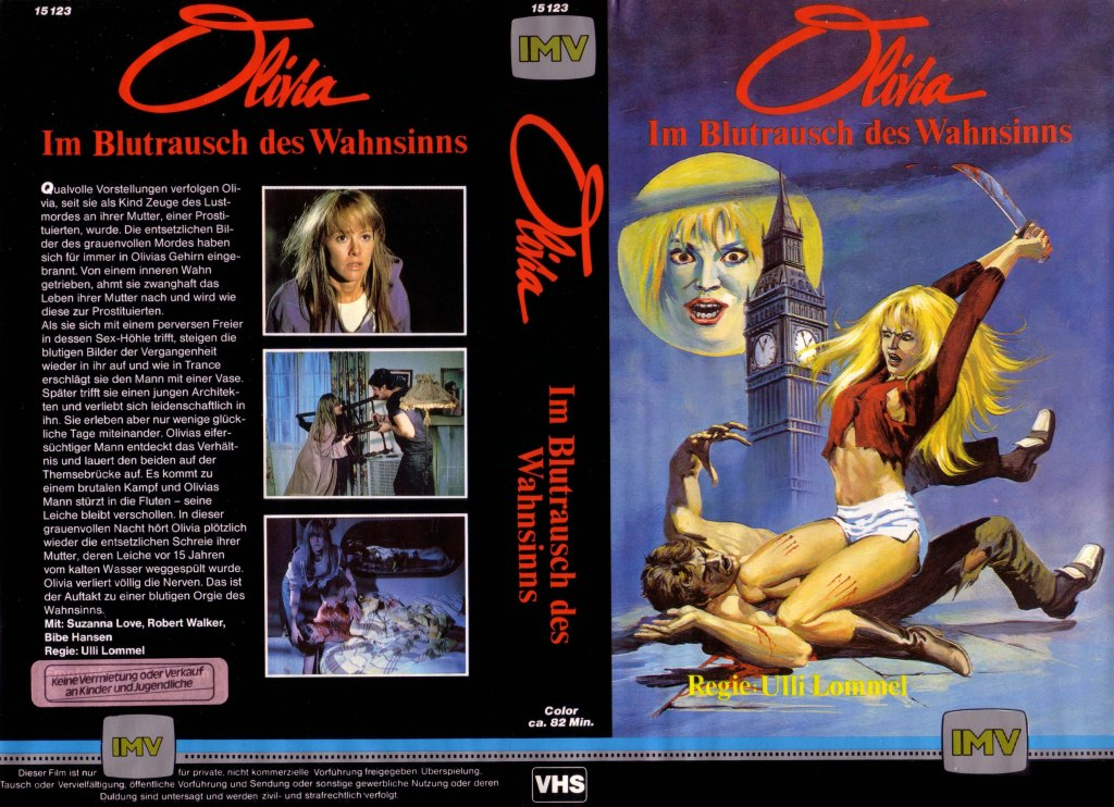 Olivia (1983) german vhs