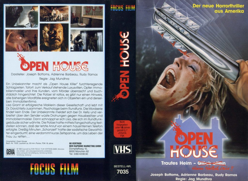 Open House (1987) german vhs