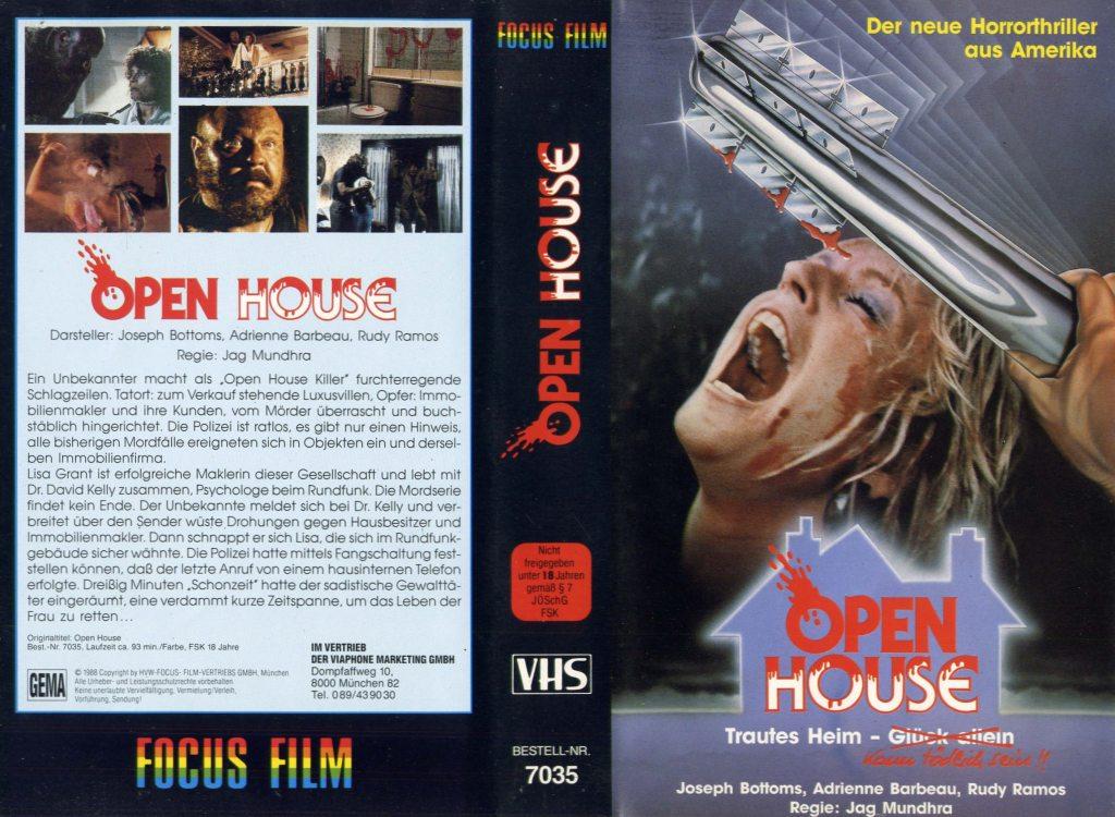 Open House (1987) german vhs