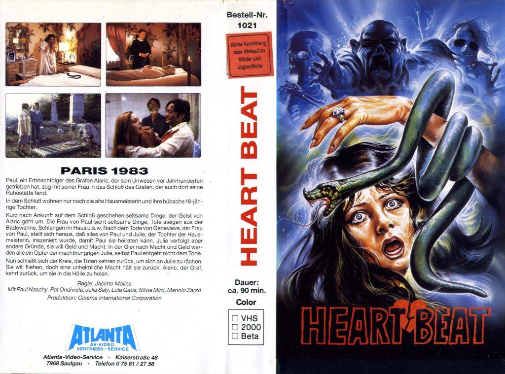 Panic Beats (1983) german vhs