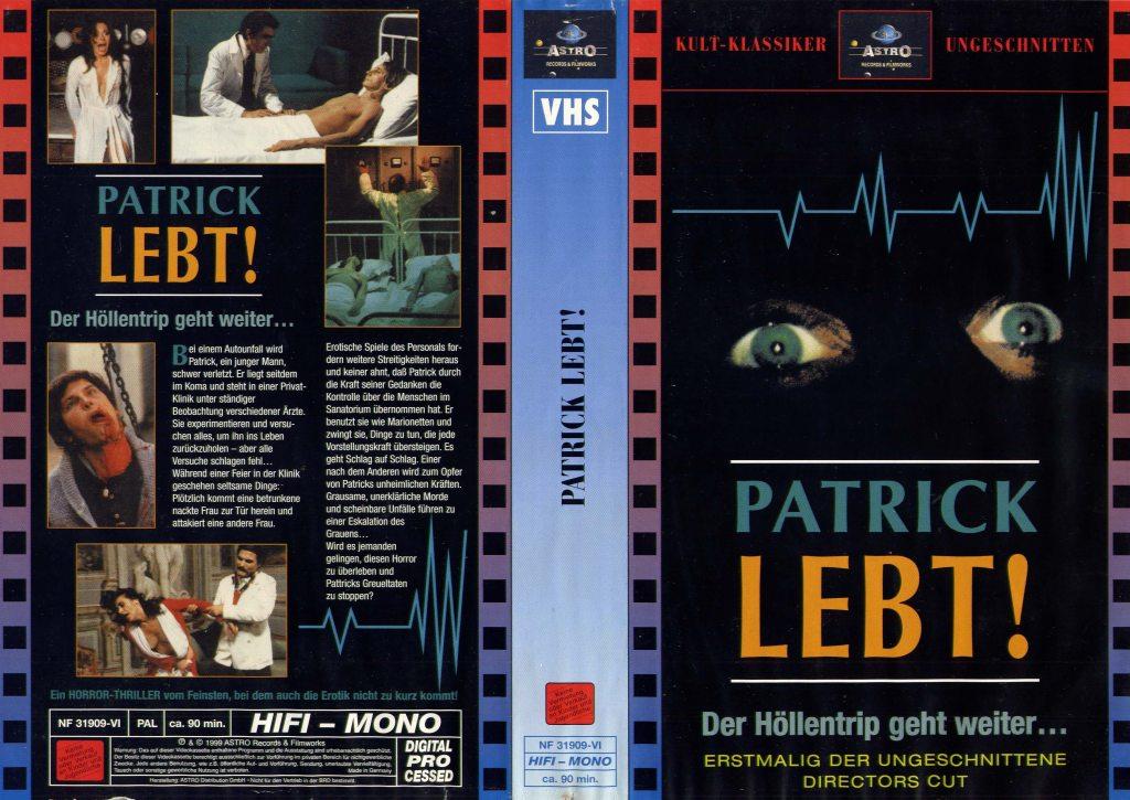 Patrick (1978) german vhs
