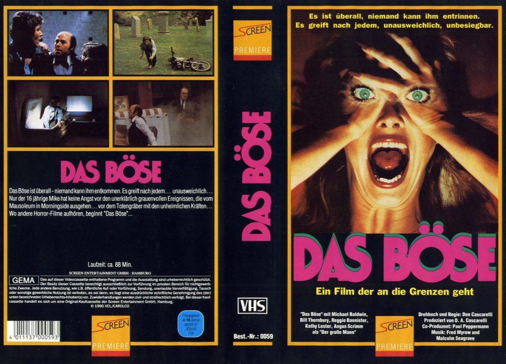 Phantasm (1979) german vhs