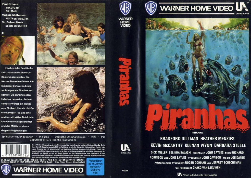 Piranha (1978) german vhs