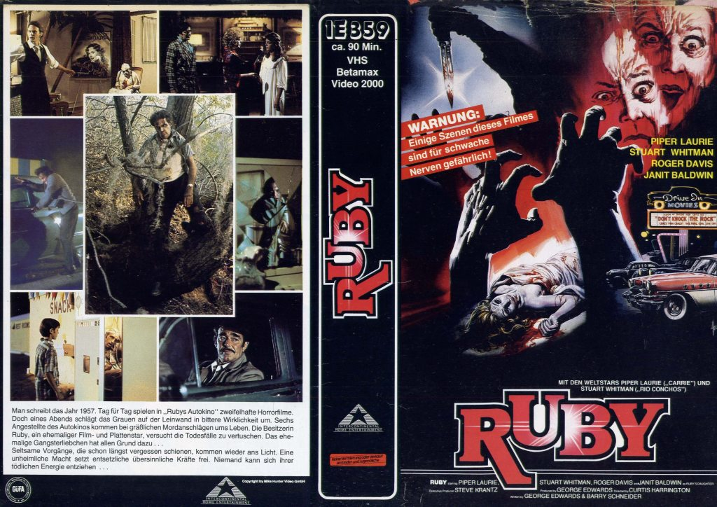 Ruby (1977) german vhs