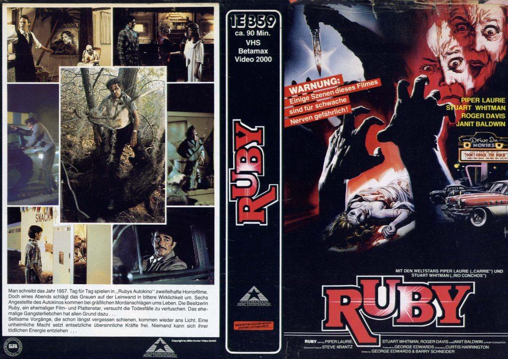 Ruby (1977) german vhs