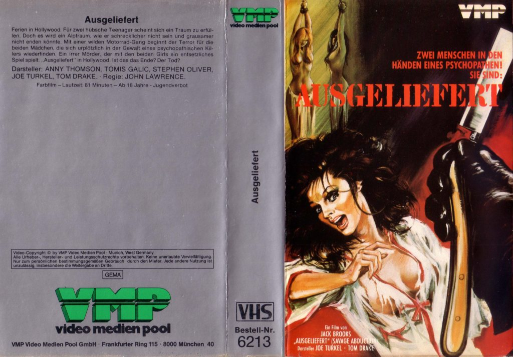 Savage Abduction (1973) german vhs