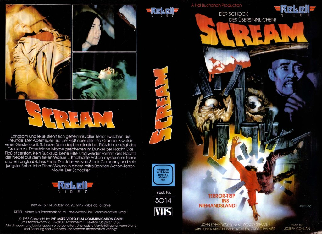 Scream (1981) german vhs