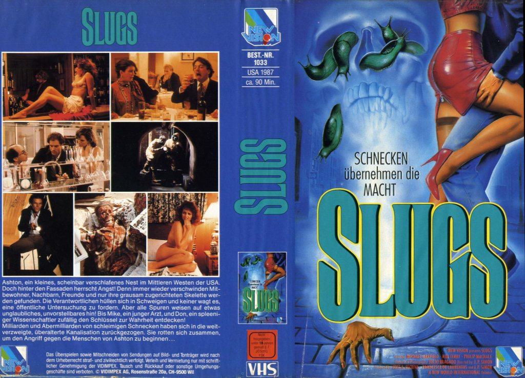 Slugs (1988) german vhs