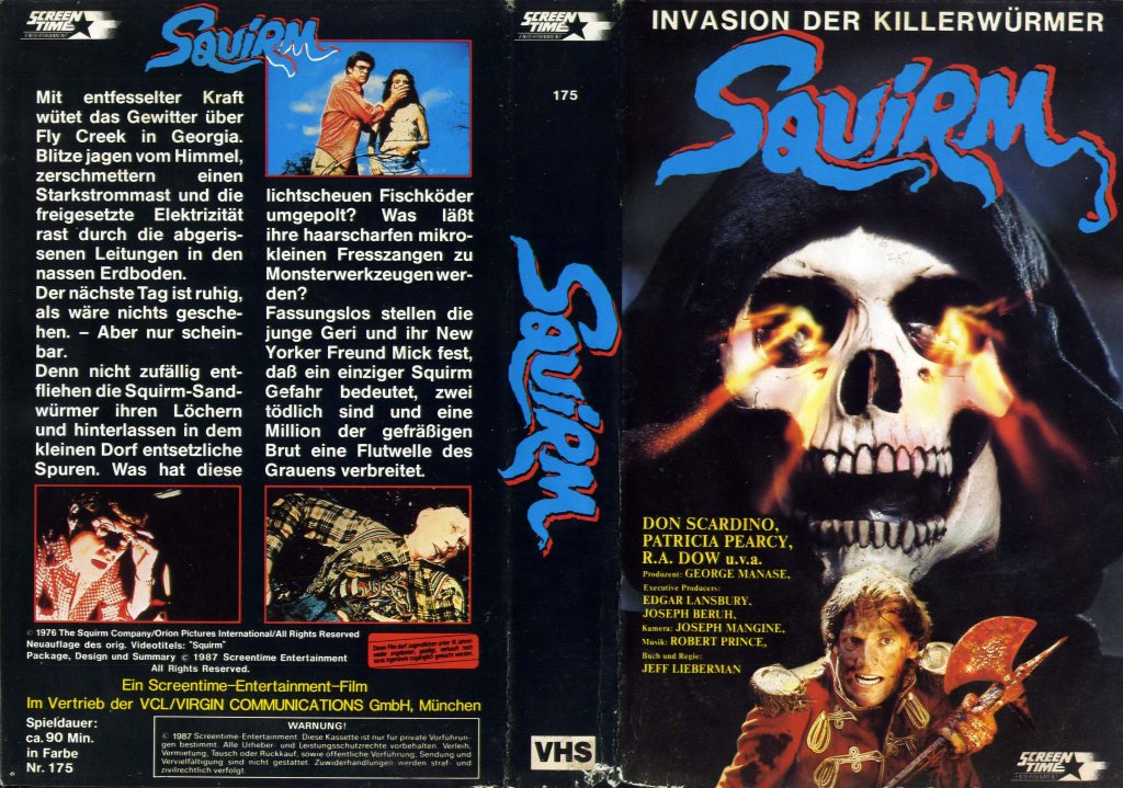 Squirm (1976) german vhs
