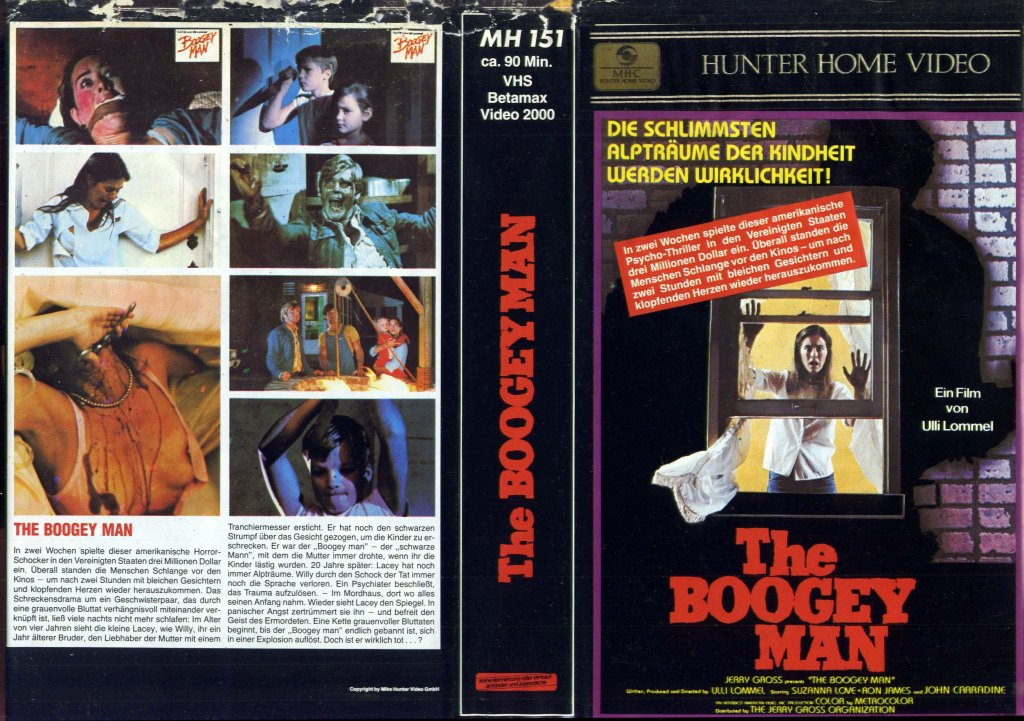The Boogey Man (1980) german vhs