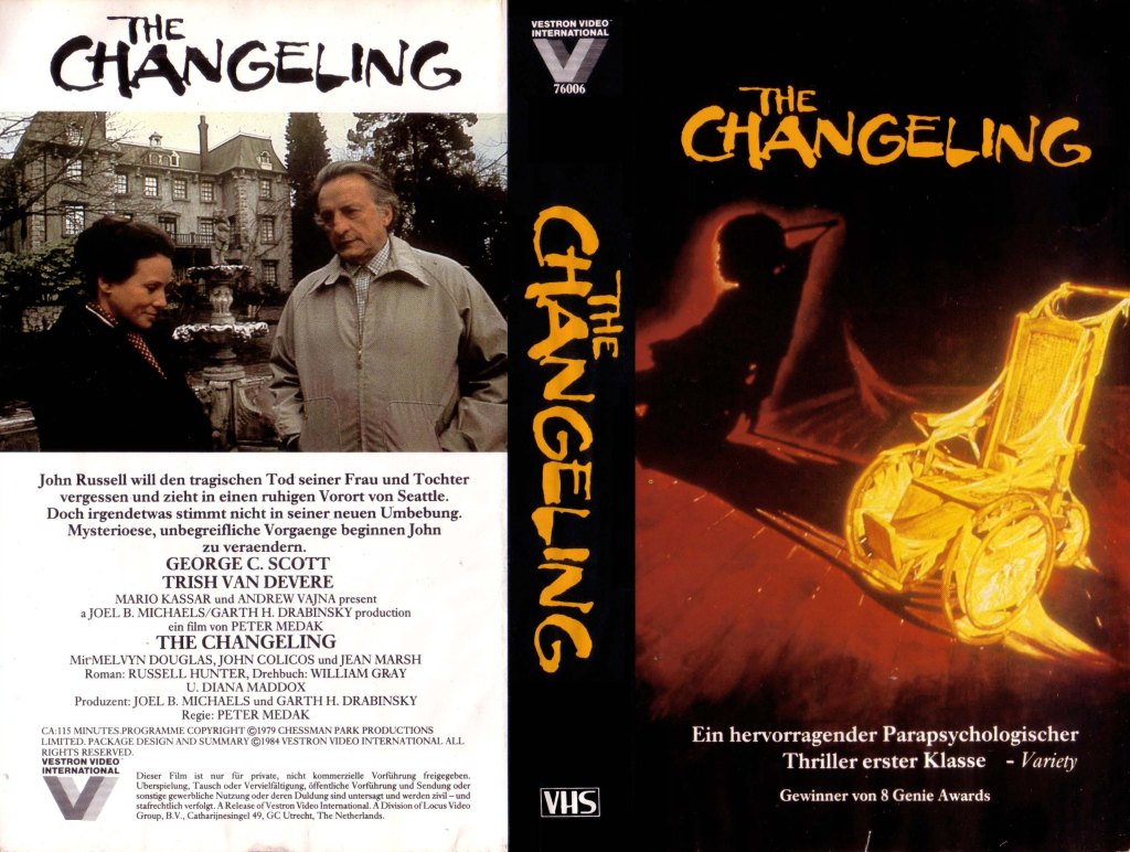 The Changeling (1980) german vhs