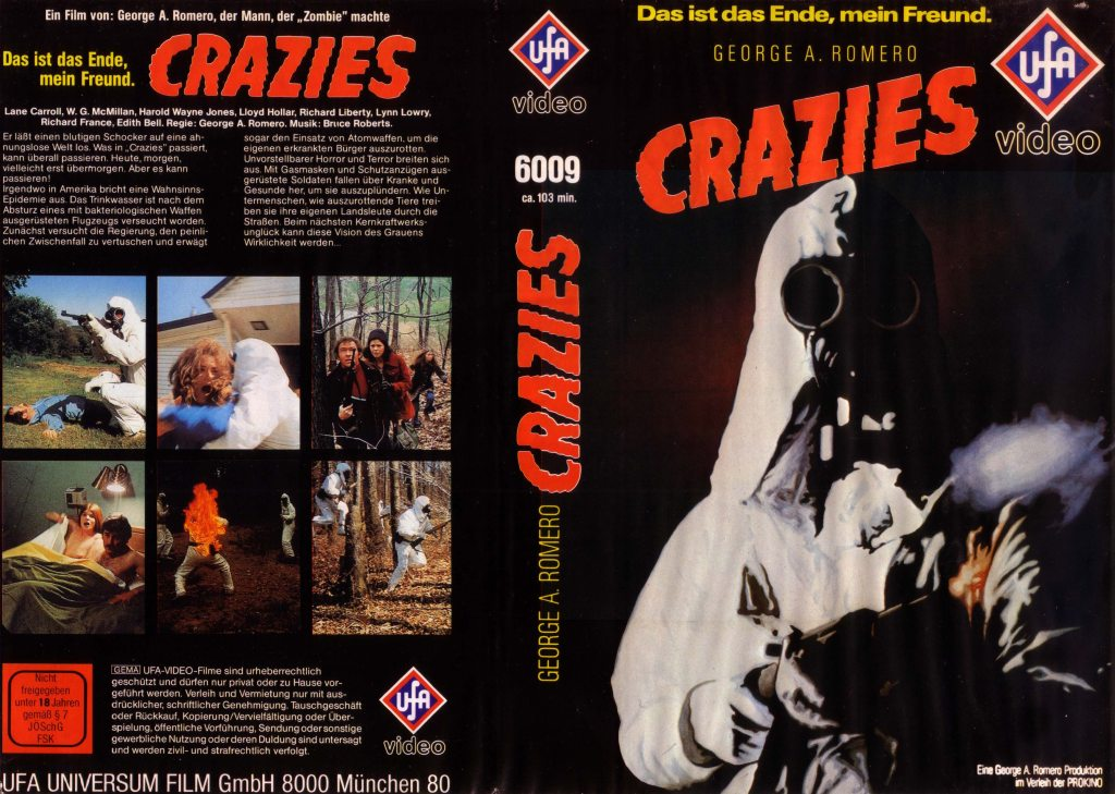 The Crazies (1973) german vhs