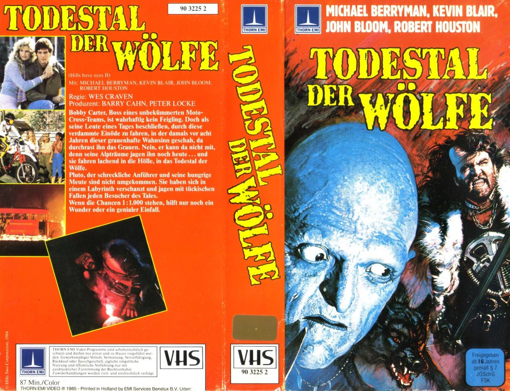 The Hills Have Eyes II (1984) german vhs