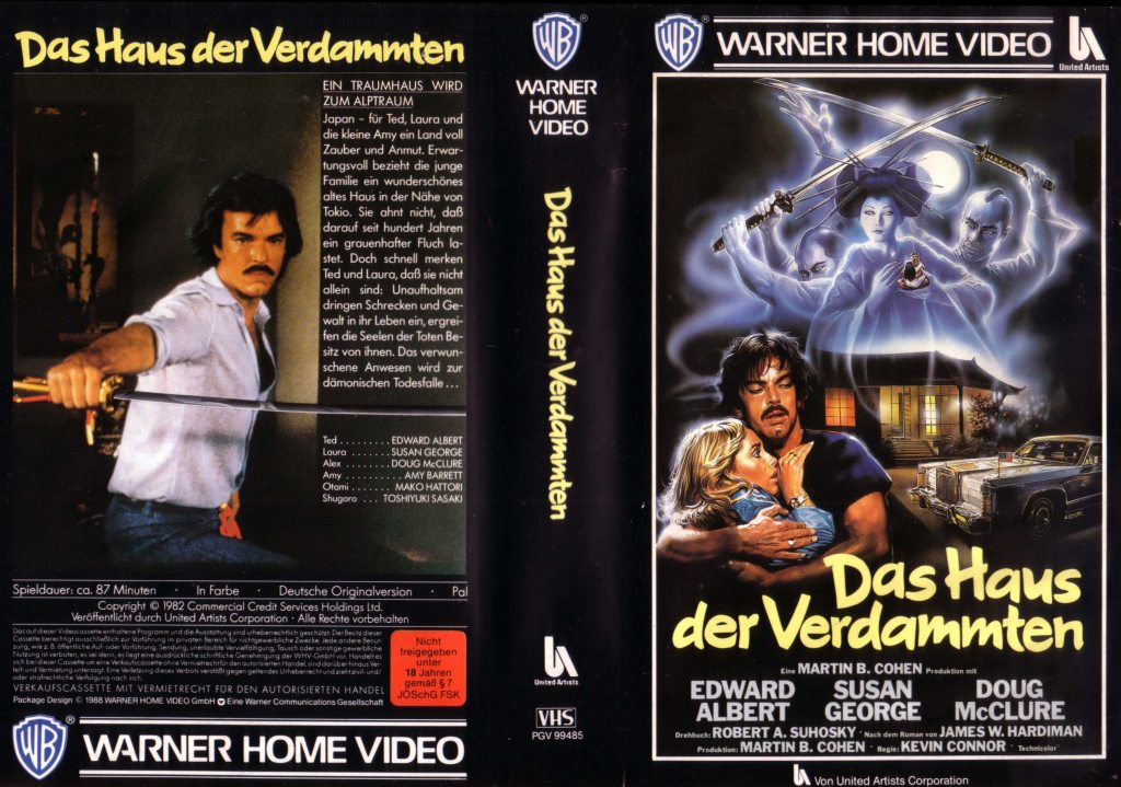 The House Where Evil Dwells (1982) german vhs cover by Enzo Sciotti