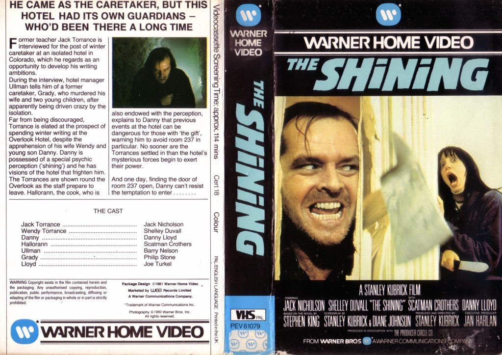 The Shining (1980) german vhs