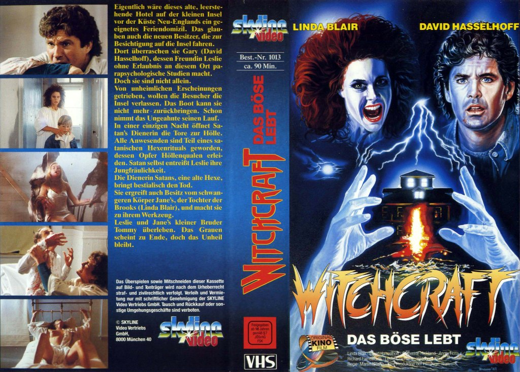 Witchery (1988) german vhs cover by Michael Knepper