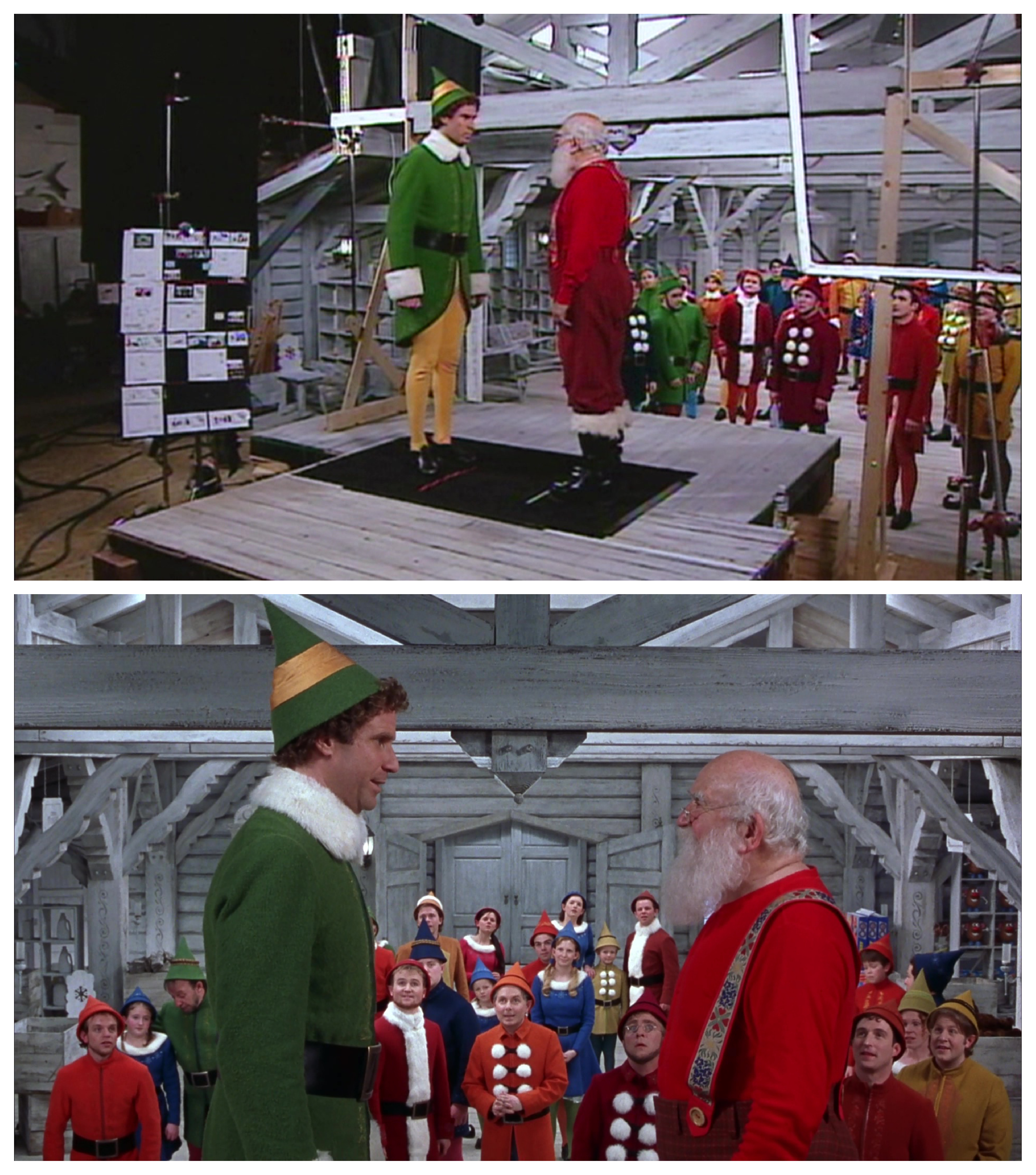 The Shot Behind The Shot Elf 2003 Deep Fried Movies