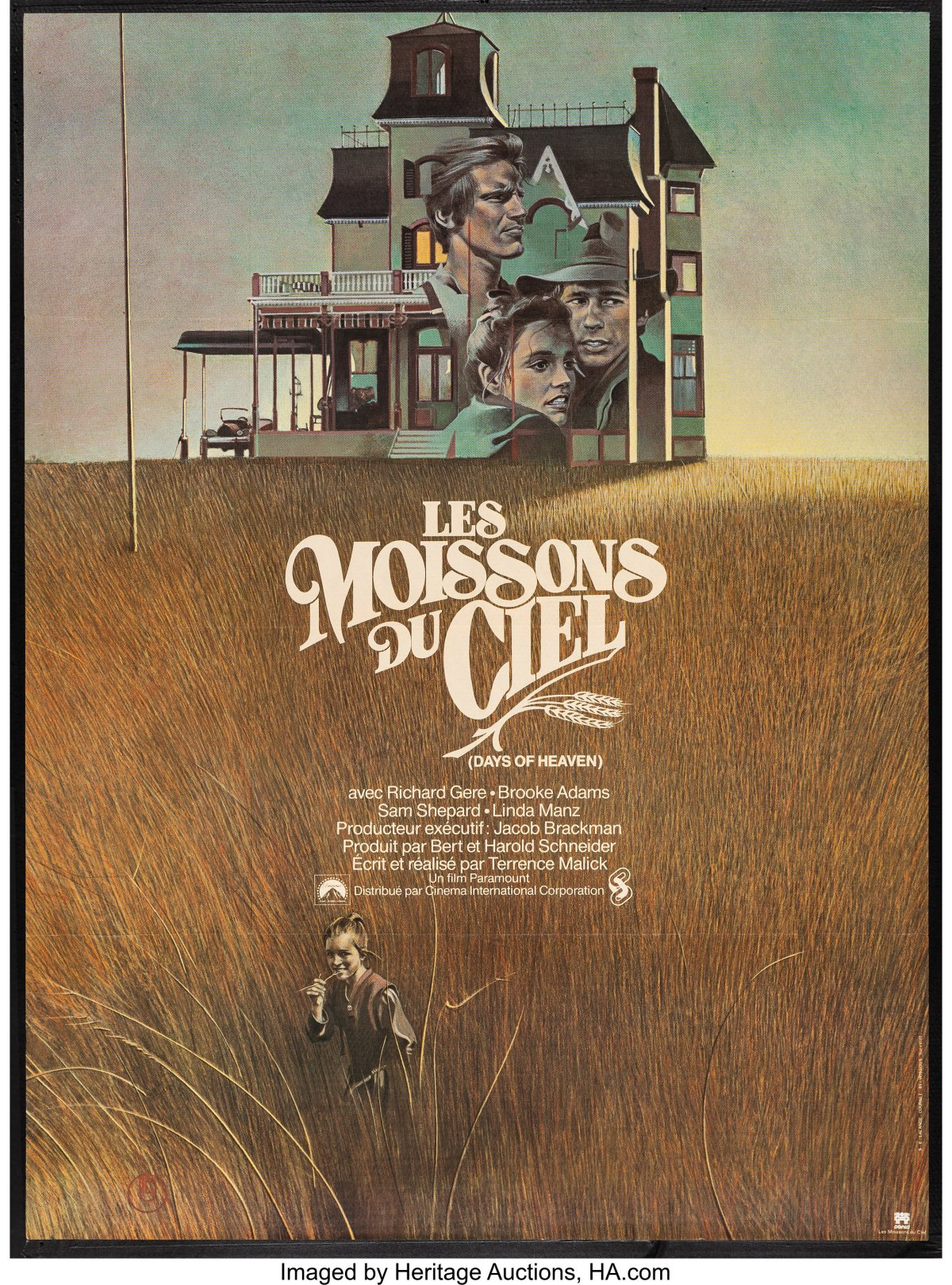 Days of Heaven french poster