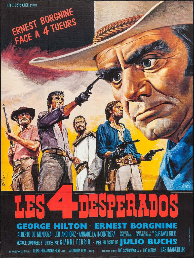 The Western posters of French artist Jean Mascii (1926-2003